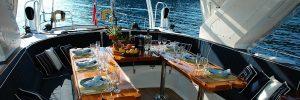 Addio al nubilato con aperitivo in barca lago di Garda