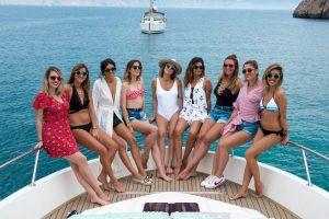 Addio al nubilato in barca lago di Garda