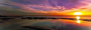 Cena romantica al tramonto sul lago di Garda
