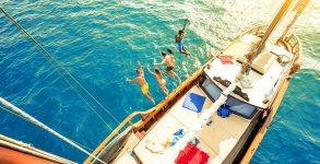 feste in barca lago di Garda