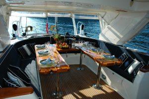 Servizi per feste in barca lago di Garda